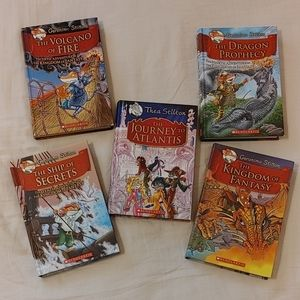 Geronimo Stilton hardcover book set